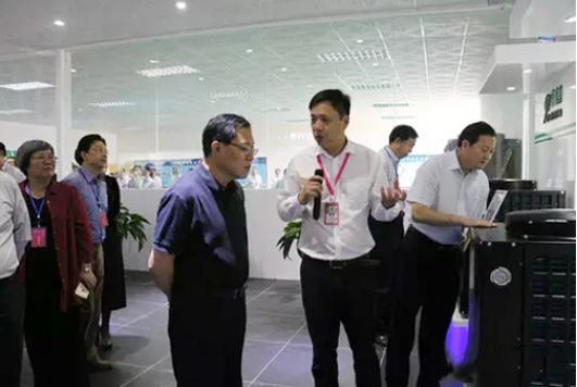 超阵容湖南永州市领导班子来九恒参观考察!